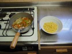 白菜煮込み和風ラーメン15