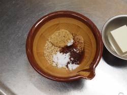 秋鮭となすのごま味噌炒め14