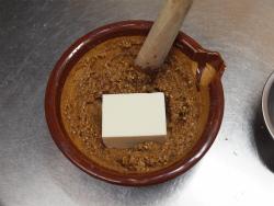 秋鮭となすのごま味噌炒め16