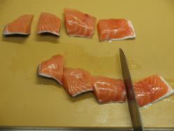 秋鮭となすのごま味噌炒め21