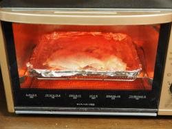 鶏もも肉のにんにく味噌焼き08