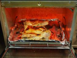鶏もも肉のにんにく味噌焼き09