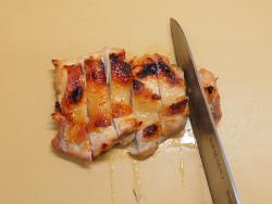 鶏もも肉のにんにく味噌焼き14