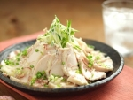 炊飯器蒸し鶏20