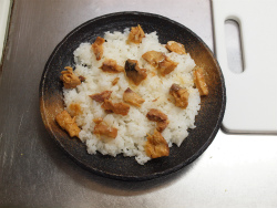 さば缶と漬物のちらし寿司75