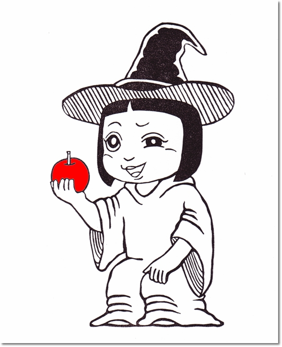 ハロウィンなりきり学芸会♪ 魔女サキ登場!の巻