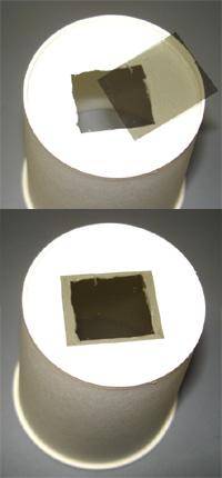 偏光板 万華鏡 作成1