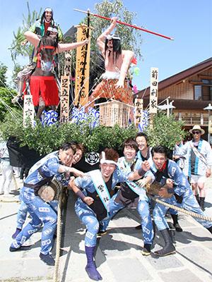 平成25年度土崎港曳山祭り その他撮影 加賀町