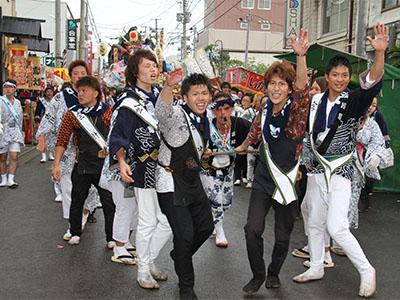 平成25年度土崎港曳山祭り その他撮影 古川町2