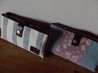 2ジップ財布