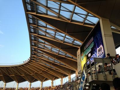 フクアリの屋根