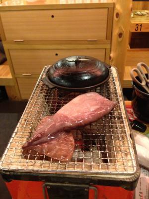 鳥取遠征 夜のイカ