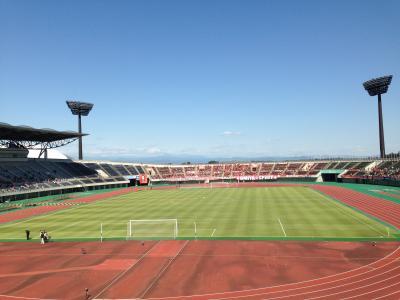 熊谷スポーツ文化公園陸上競技場ピッチ1