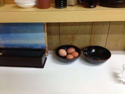 徳島ラーメン卵