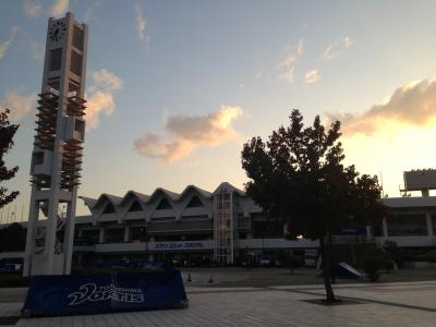 早朝のポカリスエットスタジアム