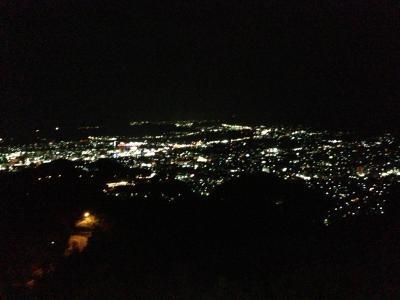 かんぽの宿からの夜景