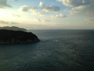 大鳴門橋からの景色