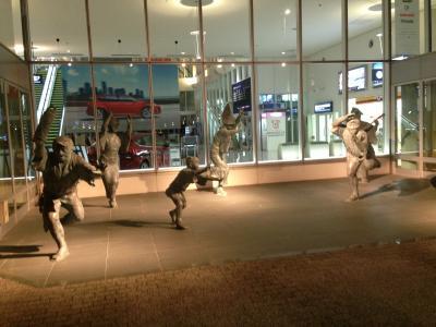 徳島空港オブジェ