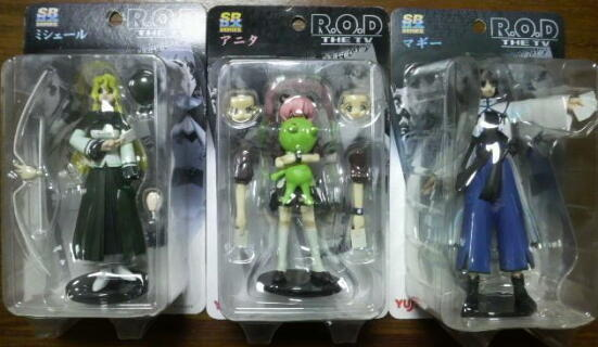R.O.D-THE TV-(ユージン製)フィギュア SR DX紙姉妹