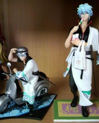 銀さん(スクーター)&銀さん(甘党)