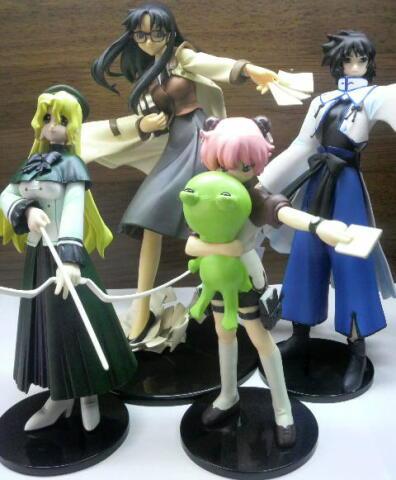 紙使い達(読子、アニタ、マギー、ミシェール)