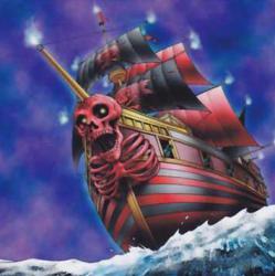 ご存知、ないのですか!? あの船こそ、兎からチャンスを掴み、エクシーズ素材界のスターの座を駆け上がっている、快晴・上昇・ハレルーヤな大航海、スカルブラッド号ちゃんです!