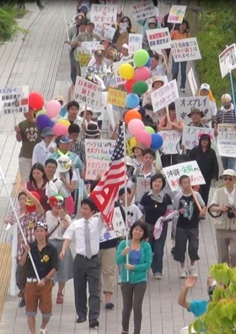 <br />沖縄県民が「尖閣危機とオスプレイ配備賛成」県民集会を開催!!