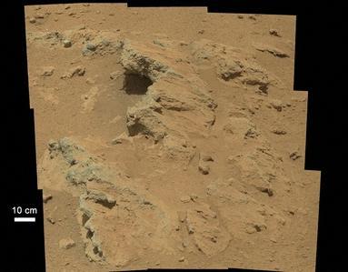 NASAの火星探査車、「勢いよく流れる川」の痕跡を発見
