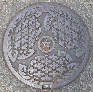長崎市マンホールの蓋blog01