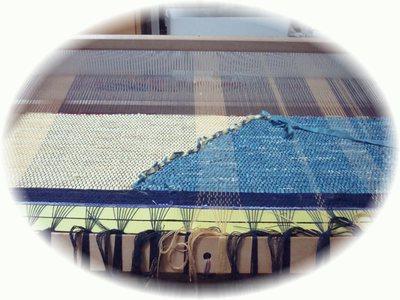 タペストリー織り始め