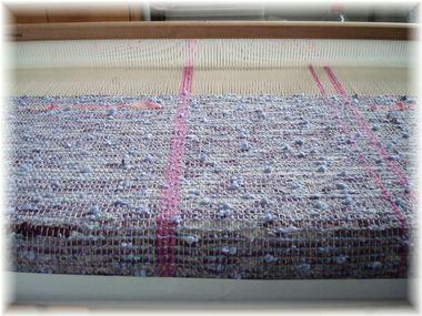 織り始めました