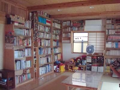 本がいっぱい