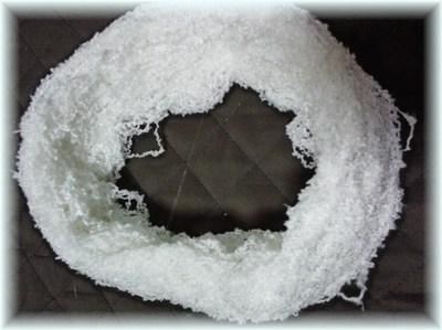 シルクの伸縮糸