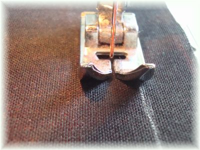裏地の縫い