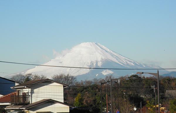 20141218今日の富士山