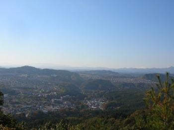 日和田山から紅葉