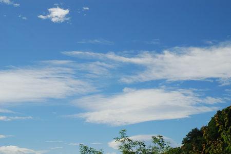 台風一過の空8