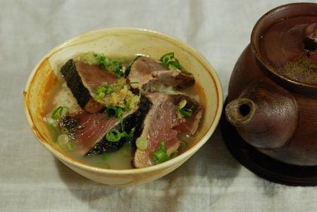 鰹たたき茶漬け14