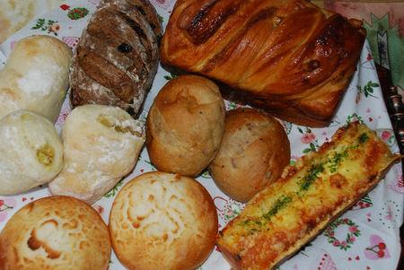 ポンパドールのパン7