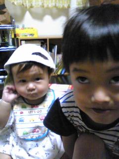 変顔王子と弟