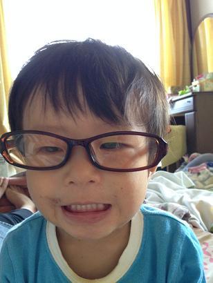 眼鏡似合う?弟