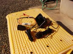 GPS+電源取出し部品