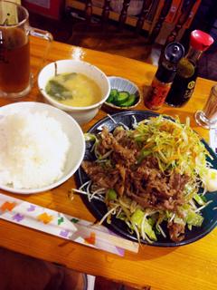 1007焼肉定食