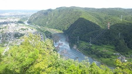 猿啄城展望台 山頂
