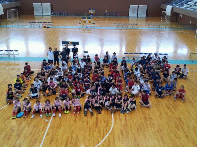 第1回関西学生フットサルチャンピオンCUP京都府立体育館集合写真
