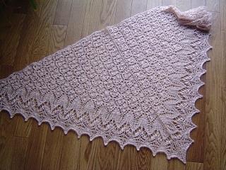 Fragaria shawl3