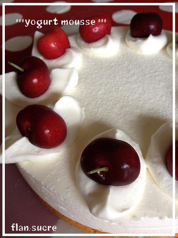 2012 5 ヨーグルトムースケーキ