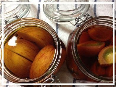 2012 9 レシピブログモニター フルーツのブランデー4