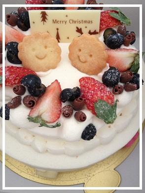 2012 12 萩原さんBDケーキ