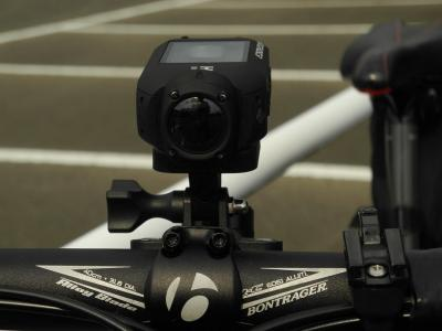 Drift HD Ghost on bike